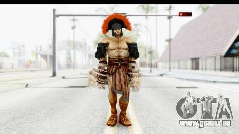 God of War 3 - Hercules v2 pour GTA San Andreas deuxième écran