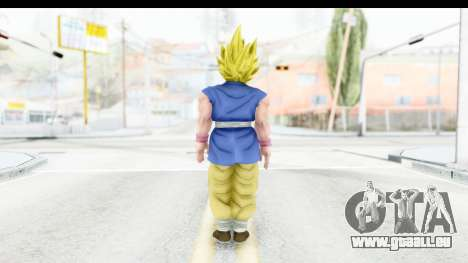 Dragon Ball Xenoverse Goku GT Adult SSJ1 für GTA San Andreas dritten Screenshot