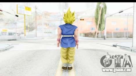 Dragon Ball Xenoverse Goku GT Adult SSJ1 für GTA San Andreas dritten Screenshot