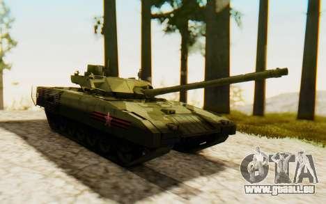 T-14 Armata für GTA San Andreas rechten Ansicht