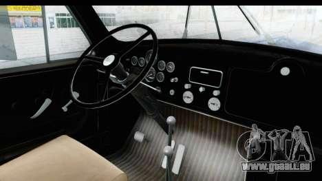 Mack B-61 1953 pour GTA San Andreas vue intérieure