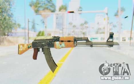 CS:GO - AK-47 Jetset für GTA San Andreas
