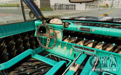 GTA 5 Declasse Voodoo Alternative v2 PJ pour GTA San Andreas vue intérieure