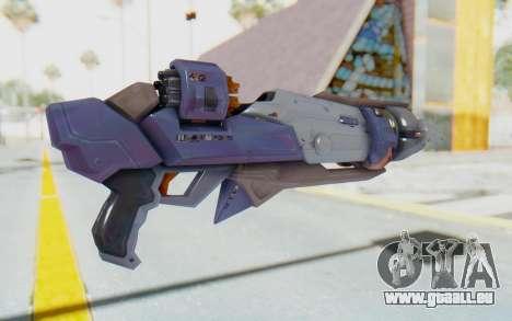 Pharah Mechaqueen Rocket für GTA San Andreas zweiten Screenshot