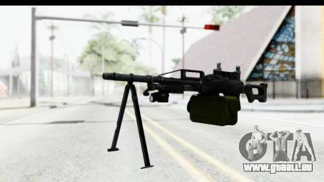 Kalashnikov PK (PKM) Iron Sights pour GTA San Andreas deuxième écran