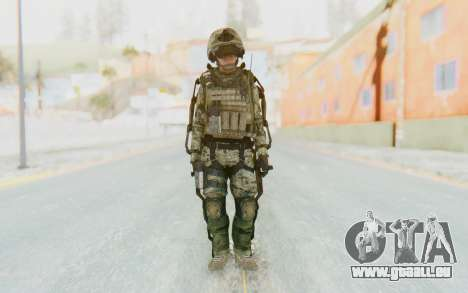 CoD AW US Marine Assault v4 Head D für GTA San Andreas zweiten Screenshot