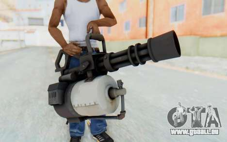 Minigun from TF2 pour GTA San Andreas