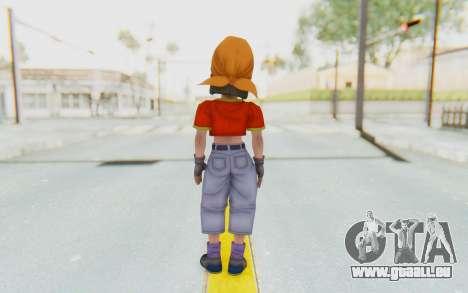 Dragon Ball Xenoverse Pan SJ pour GTA San Andreas troisième écran