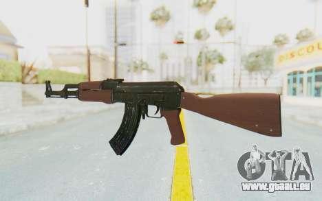 Assault AK-47 pour GTA San Andreas deuxième écran