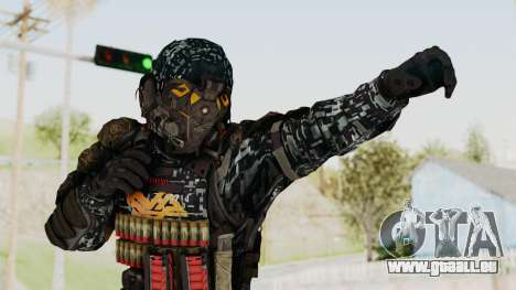 CoD Advanced Warfare KVA Heavy Soldier pour GTA San Andreas