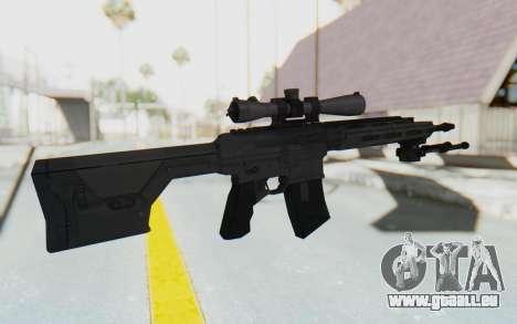 CoD: MW3 - Remington RSASS pour GTA San Andreas troisième écran