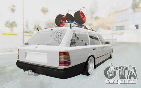 Mercedes-Benz W124 Stance Works für GTA San Andreas linke Ansicht