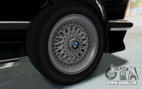BMW M635 CSi (E24) 1984 HQLM PJ3 pour GTA San Andreas vue de droite