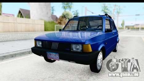 Fiat 147 Spazio TR Stock für GTA San Andreas zurück linke Ansicht