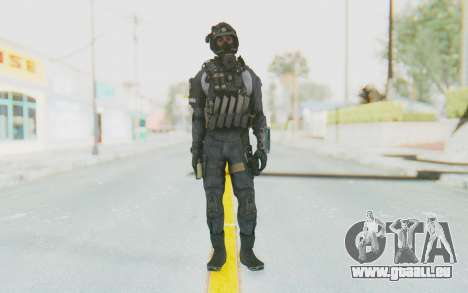 Federation Elite SMG Original pour GTA San Andreas deuxième écran
