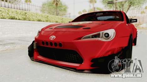 Toyota GT86 Drift Edition pour GTA San Andreas
