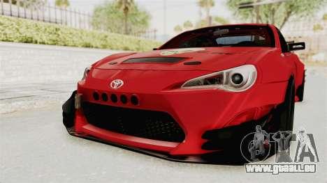Toyota GT86 Drift Edition für GTA San Andreas