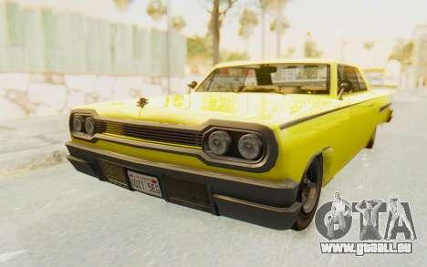 GTA 5 Declasse Voodoo pour GTA San Andreas vue de droite