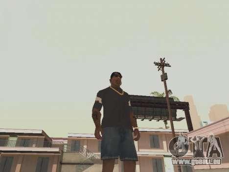 T-shirt ich bin BATMAN für GTA San Andreas zweiten Screenshot
