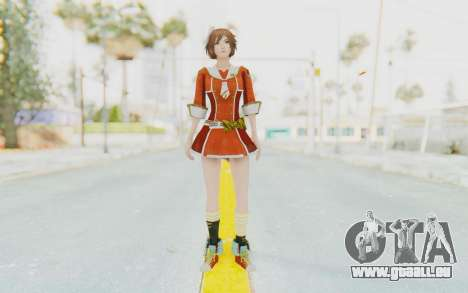 Dynasty Warriors 7 Sun Shangxiang School DLC pour GTA San Andreas deuxième écran