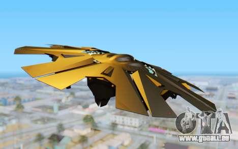 GTA 5 UFO B-2 Style für GTA San Andreas rechten Ansicht