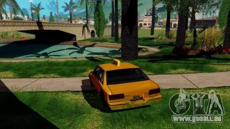 GeForce ENB pour la faiblesse du PC pour GTA San Andreas troisième écran