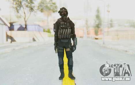 Federation Elite SMG Tactical für GTA San Andreas zweiten Screenshot