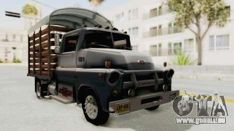 Chevrolet 56 Mini C.O.E. für GTA San Andreas