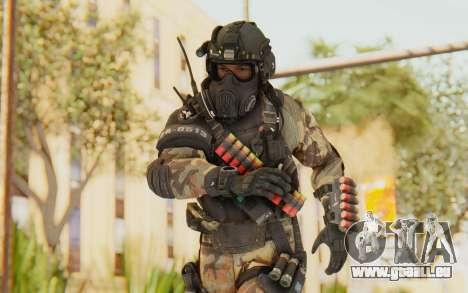 Federation Elite Shotgun Woodland-Flora für GTA San Andreas