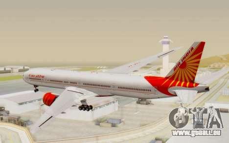 Boeing 777-300ER India Air für GTA San Andreas linke Ansicht