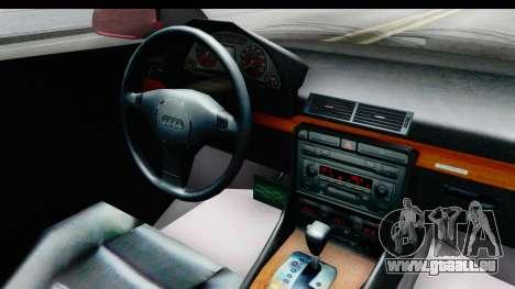 Audi A6 C5 Avant Sommerzeit für GTA San Andreas Innenansicht