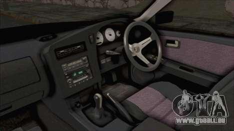 Nissan Stagea WC34 1996 pour GTA San Andreas vue intérieure