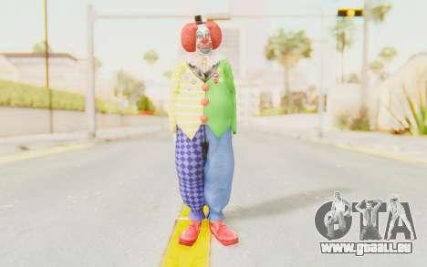 Dead Rising - Adam Macintyre The Clown für GTA San Andreas zweiten Screenshot
