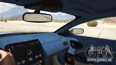 GTA 5 2001 Aston Martin V12 Vanquish rechte Seitenansicht