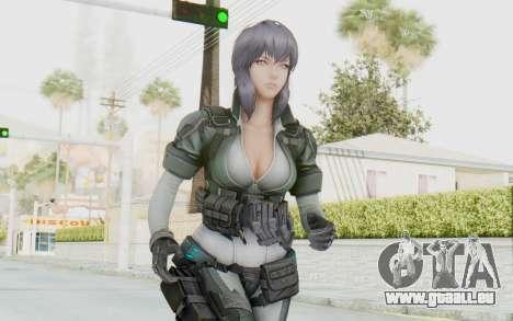Ghost In The Shell First Assautl Motoko v2 für GTA San Andreas