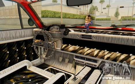GTA 5 Declasse Voodoo Alternative v2 pour GTA San Andreas vue intérieure
