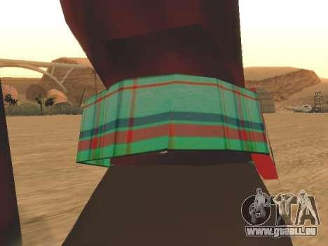 Uhr Katze für GTA San Andreas zweiten Screenshot