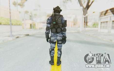 Federation Elite Assault Urban-Navy pour GTA San Andreas troisième écran