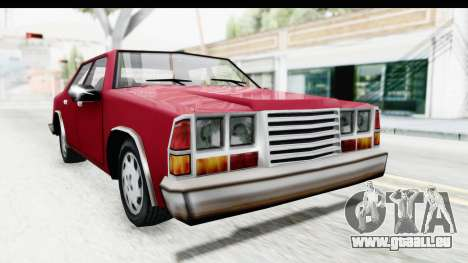 Ford Fairmont from Bully pour GTA San Andreas vue de droite