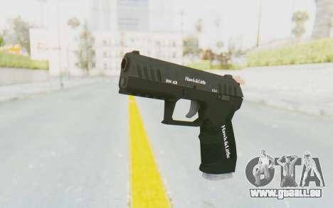 GTA 5 Hawk & Little Combat Pistol pour GTA San Andreas deuxième écran