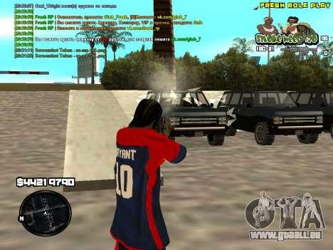 C-HUD Smoke Weed 420 für GTA San Andreas dritten Screenshot