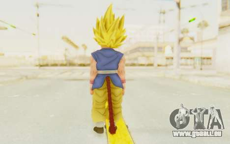 Dragon Ball Xenoverse Goku Kid GT SSJ pour GTA San Andreas troisième écran