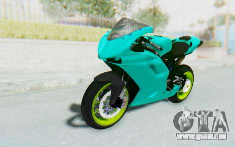 Ducati 1098R Streetrace pour GTA San Andreas