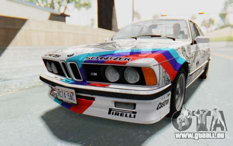 BMW M635 CSi (E24) 1984 HQLM PJ1 für GTA San Andreas Seitenansicht
