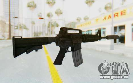 Assault M4A1 Silenced für GTA San Andreas zweiten Screenshot