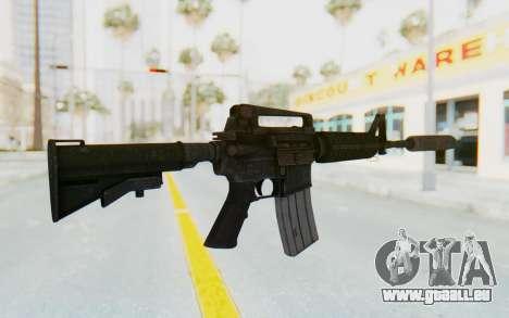 Assault M4A1 Silenced pour GTA San Andreas deuxième écran