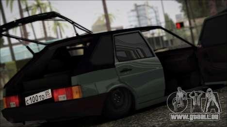 2109 Clochard pour GTA San Andreas vue intérieure