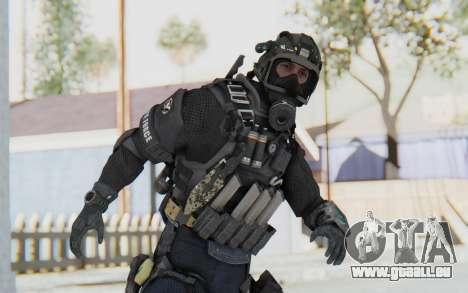 Federation Elite SMG Tactical für GTA San Andreas