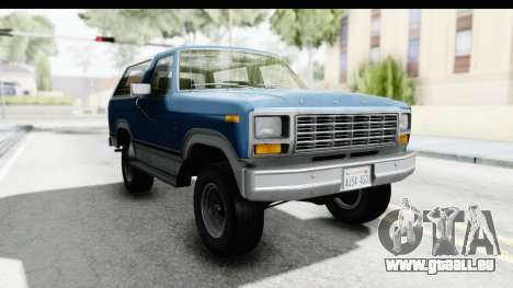 Ford Bronco 1980 für GTA San Andreas