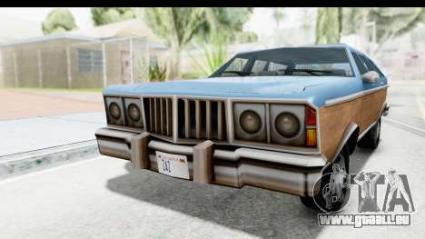 Pontiac Bonneville Safari from Bully für GTA San Andreas rechten Ansicht